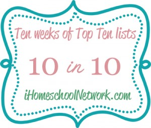 10 in 10 for iHomeschool Network