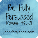 Be Fully Persuaded Series Button