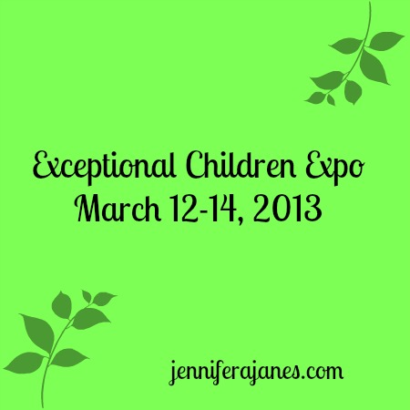 Exceptional Children Expo 2013