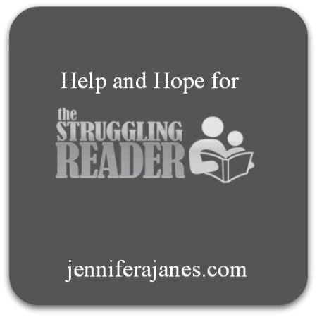 Help and Hope for Struggling Readers - jenniferajanes.com