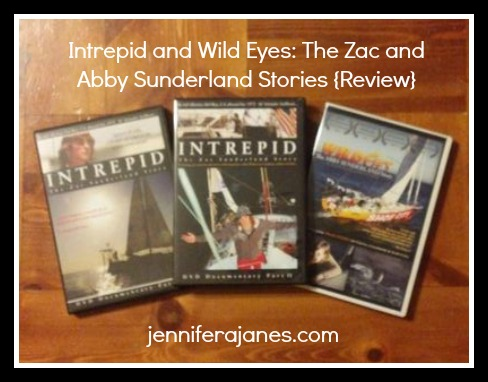Intrepid and Wild Eyes: The Zac and Abby Sunderland Stories {Review} - jenniferajanes.com