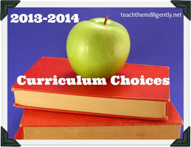 TTD 2013-14 Curriculum Choices