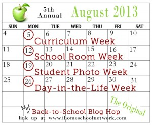Not Back-to-School Blog Hop with iHomeschool Network - jenniferajanes.com