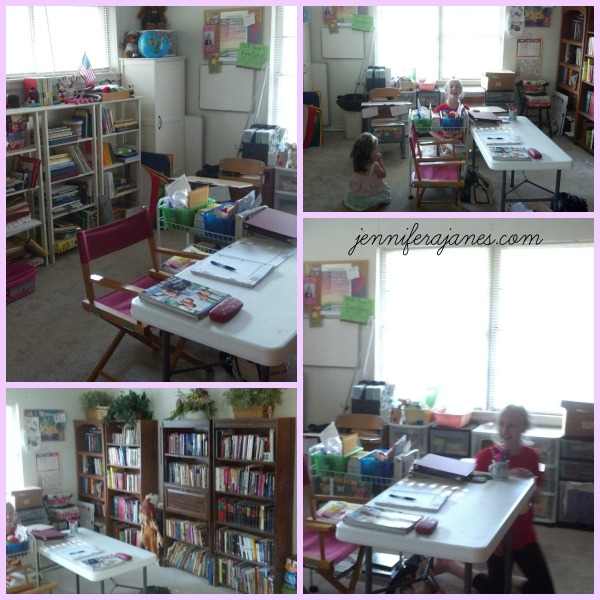Our Homeschool Room - jenniferajanes.com