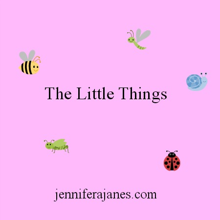 The Little Things - jenniferajanes.com