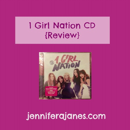 1 Girl Nation CD {Review} - jenniferajanes.com