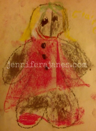 Princess Roo's Gingerbread Girl - jenniferajanes.com