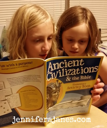 Ancient Civilizations and the Bible Elementary Activity Book - jenniferajanes.com
