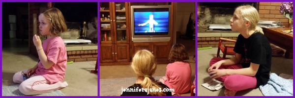 Engrossed in The Promise DVD - jenniferajanes.com