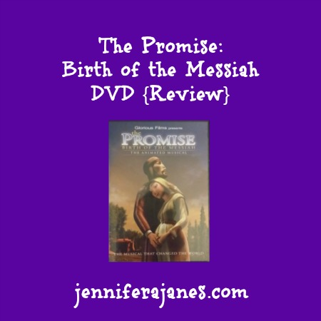 The Promise Birth of the Messiah DVD {Review} - jenniferajanes.com