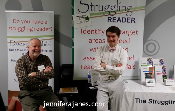 Bill and Isaiah Eckenwiler of The Struggling Reader