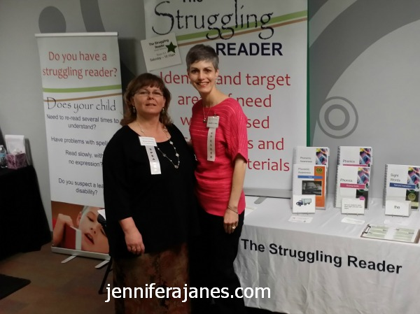 Kristen Eckenwiler of The Struggling Reader and Jennifer A. Janes