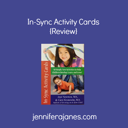 In-Sync Activity Cards {Review} - jenniferajanes.com