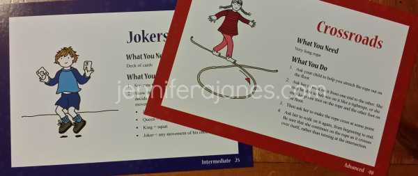 Intermediate and Advanced In-Sync Activity Cards - jenniferajanes.com
