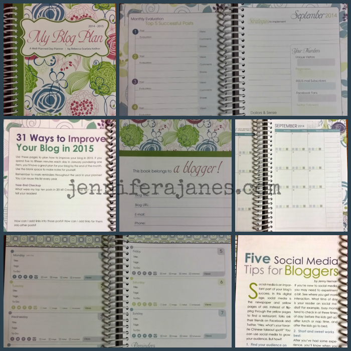 My Blog Plan Collage - jenniferajanes.com
