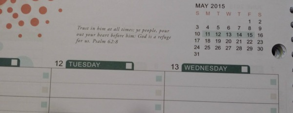 Well Planned Day Weekly Verse