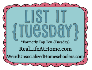 List It {Tuesday} graphic