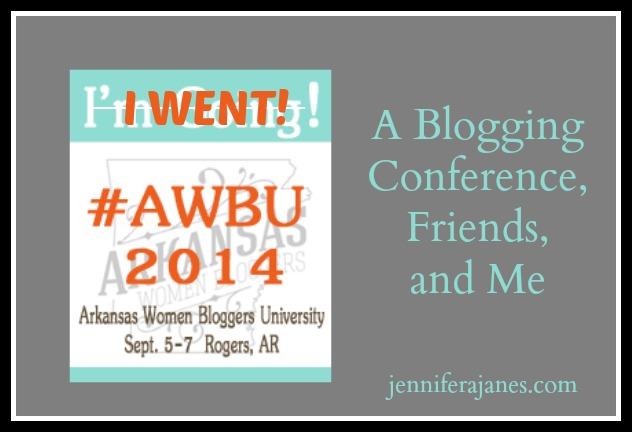A Blogging Conference, Friends, and Me - jenniferajanes.com