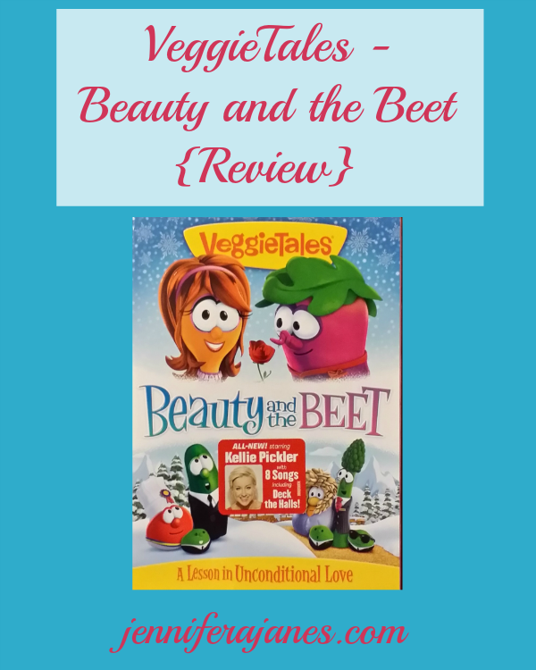 VeggieTales Beauty and the Beet {Review} - jenniferajanes.com