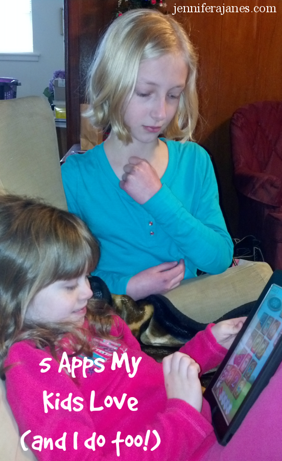 5 Apps My Kids Love (and I do too!) - jenniferajanes.com
