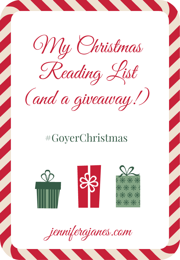 My Christmas Reading List (and a giveaway!) - jenniferajanes.com