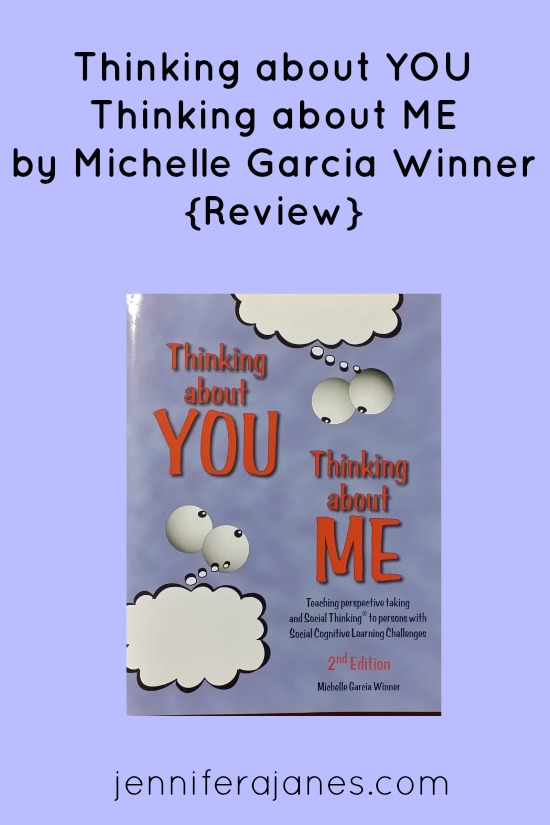 Thinking about YOU Thinking about ME by Michelle Garcia Winner {Review} - jenniferajanes.com