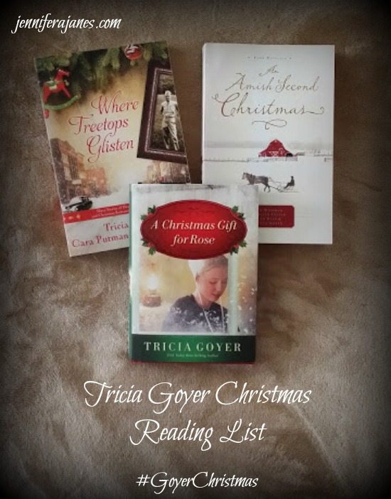 Tricia Goyer Christmas Reading List - jenniferajanes.com