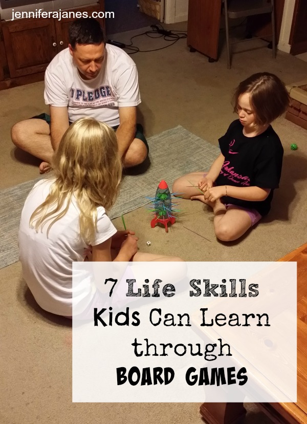 7 Life Skills Kids Can Learn through Board Games - jenniferajanes.com