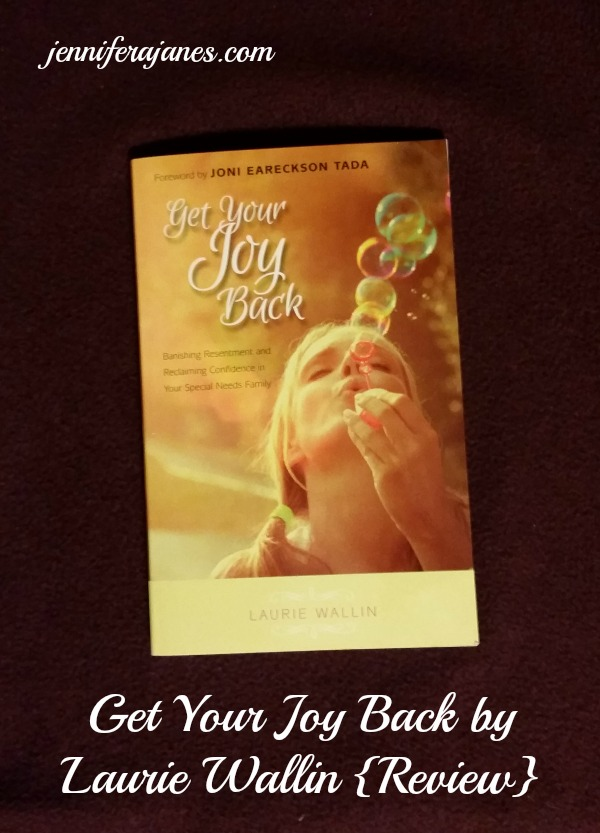 Get Your Joy Back by Laurie Wallin {Review} - jenniferajanes.com