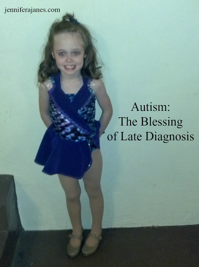 Autism: The Blessing of Late Diagnosis - jenniferajanes.com