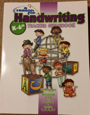 A Reason for Handwriting Teacher Guidebook
