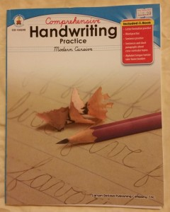 Comprehensive Handwriting Practice Modern Cursive