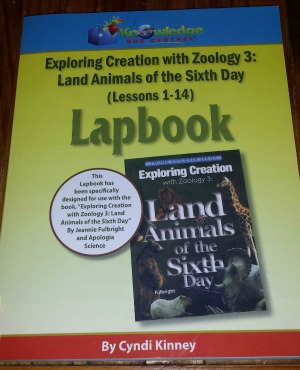 Exploring Creation with Zoology Lapbook