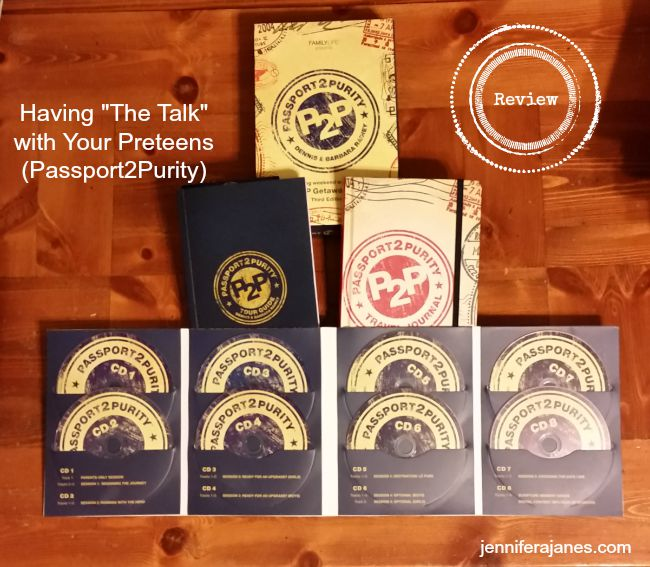 "Struggling to have ""the talk"" with your preteens? Passport2Purity was a tremendous help to my family! *REVIEW*"