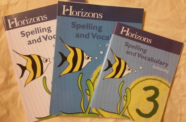 Horizons Spelling and Vocabulary Level 3