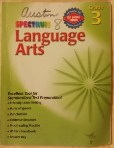 Spectrum Language Arts Grade 3