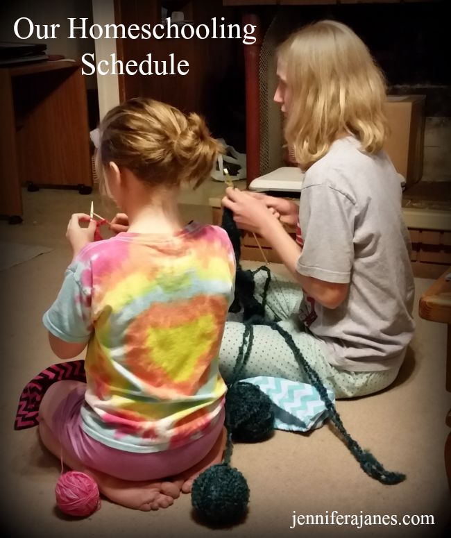 Like our lives, our homeschooling schedule has to be flexible and fluid. Here's a glimpse at what it looks like starting our 2015-16 school year.
