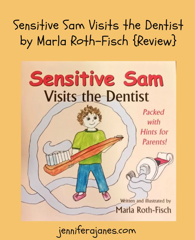 A review of Sensitive Sam Visits the Dentist, which gives both kids and parents tips for dealing with sensory issues at the dentist office.