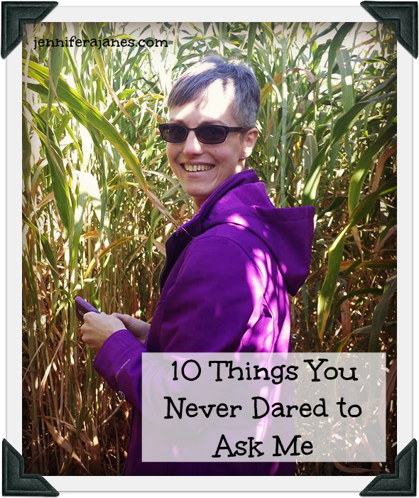 10 things you never dared to ask me about myself and our homeschool.