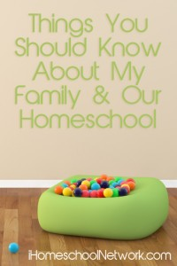 Things to Know - iHomeschool Network
