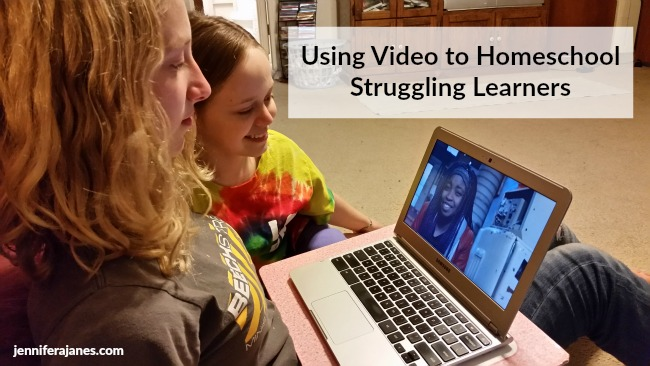 Have a child who doesn't respond well to traditional teaching methods? Trying using video to homeschool struggling learners!
