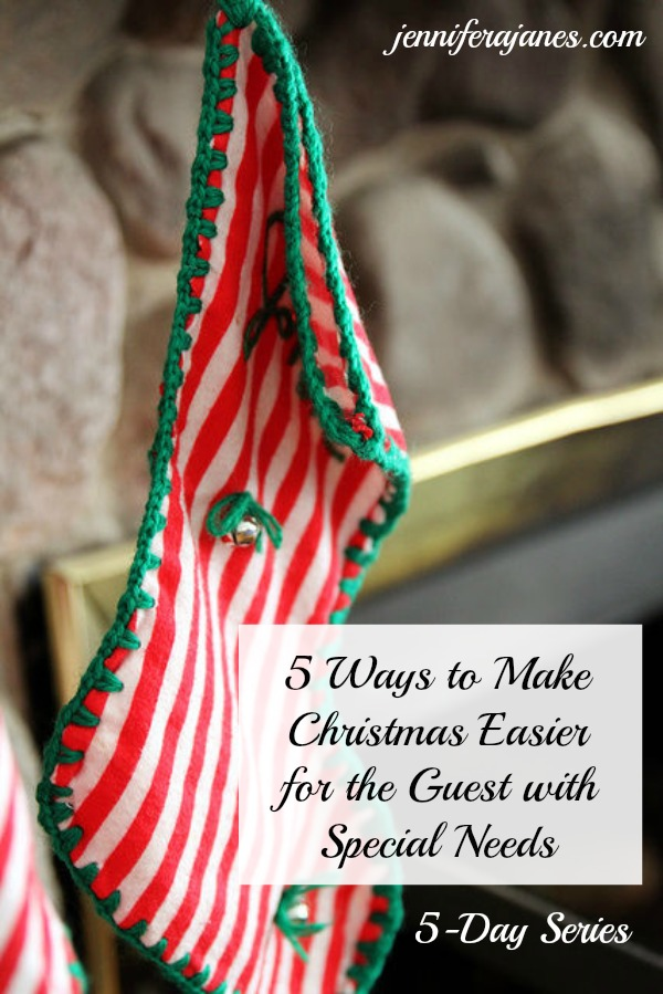 Make Christmas more enjoyable for the guest with special needs. Check out this 5-day series to find out how.