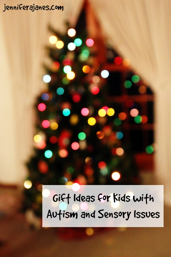 Need ideas for gifts for kids with autism and sensory issues? Here are some ideas to get you started!